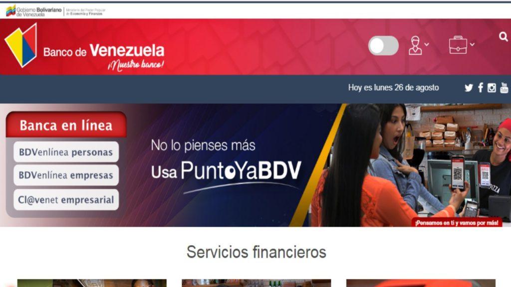 apretura de cuenta Bando de Venezuela