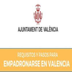 Cita previa para empadronamiento en Valencia,España