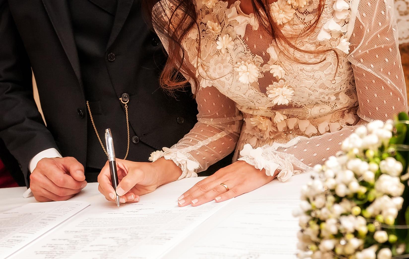 licencia de matrimonio en NY